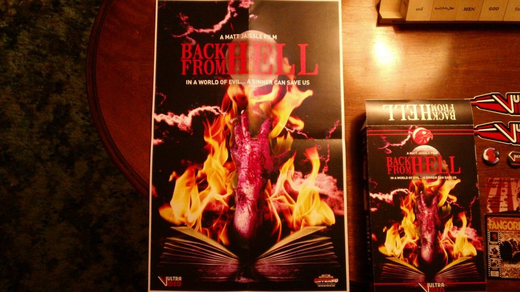Back From Hell Poster Vultra Video
