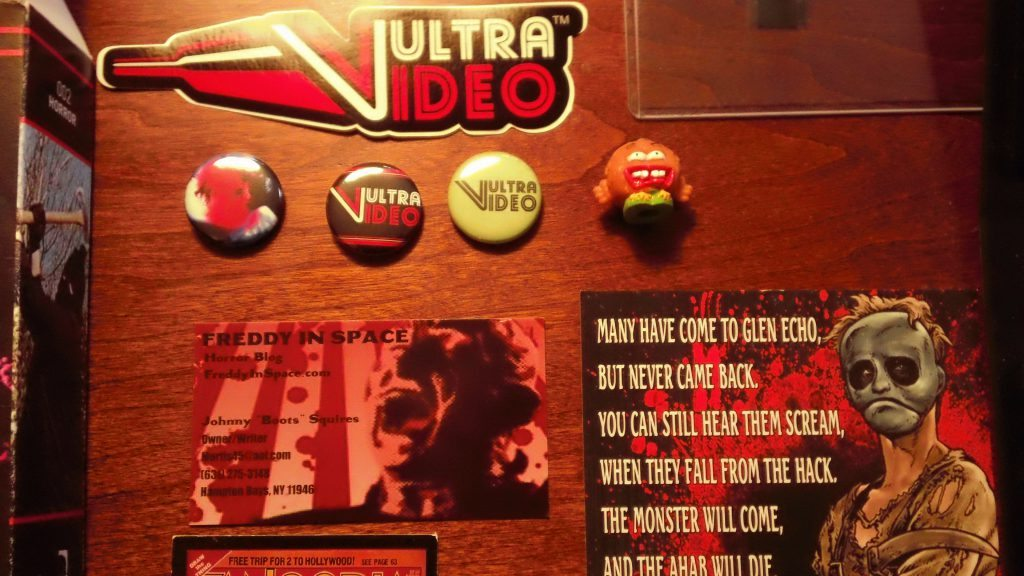 Vultra Video buttons and sticker