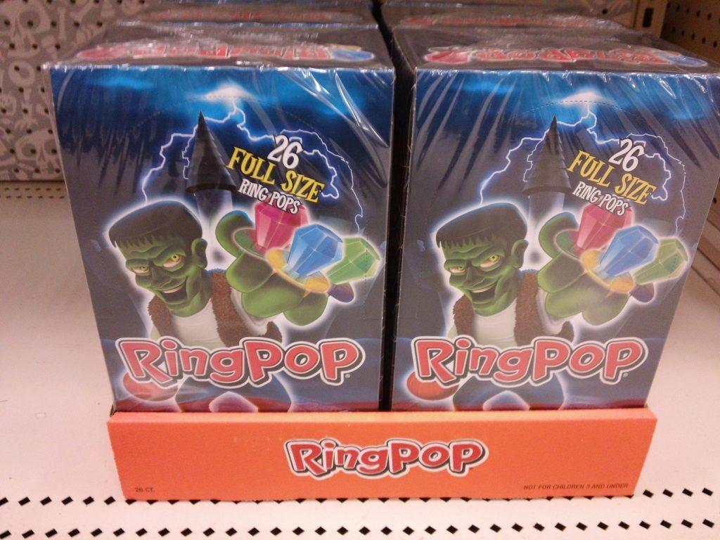 Halloween Ring Pops