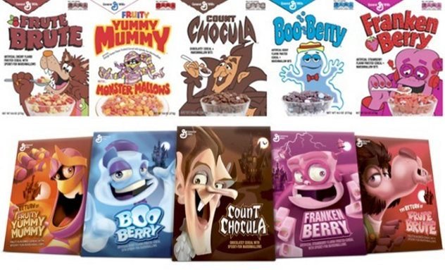 general-mills-monster-cereals-vintage art