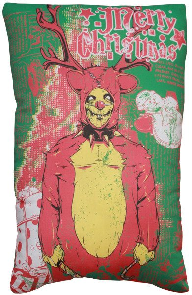Christmas horror pillow gift