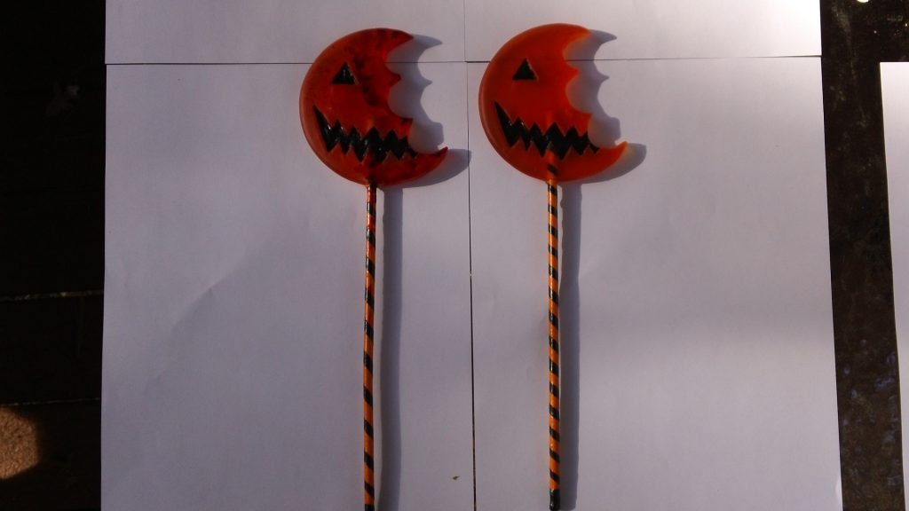 Trick r Treat lollipops Halloween