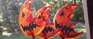 Trick r Treat lollipops Halloween
