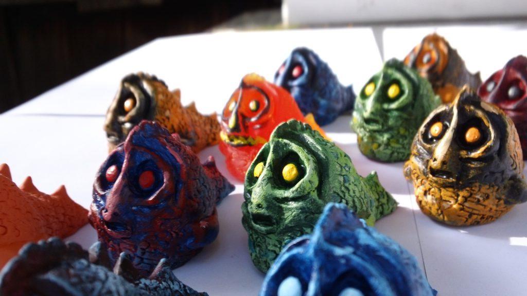 halloween fish creature