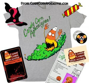 Candy Corn Apocalypse Halloween Club Shirt