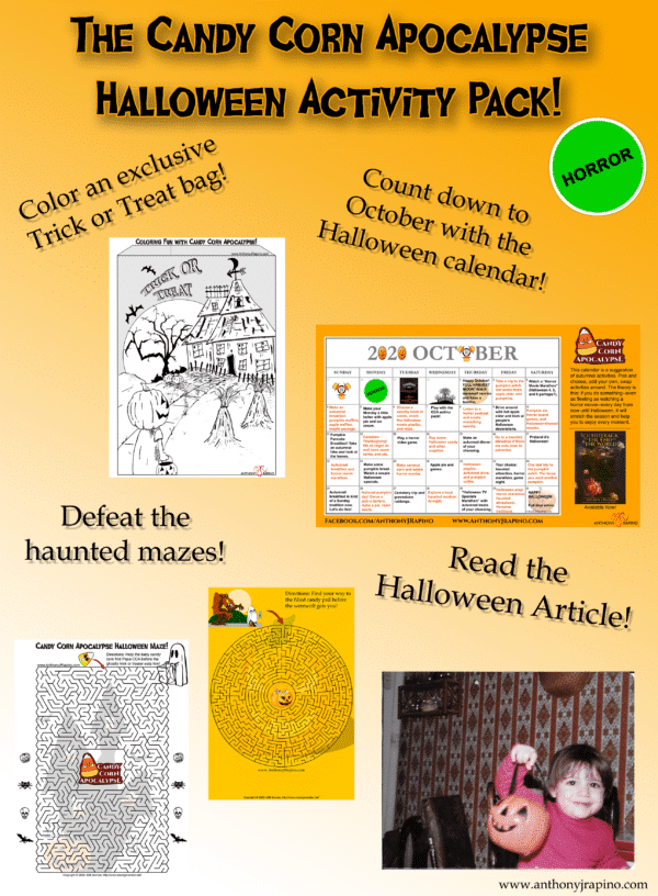 Halloween Activity Pack cover